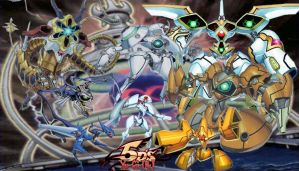 Yugioh Playmat: Meklord 4 by Xaidon