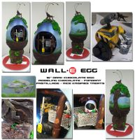 Wall-E Egg by themie