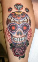 sugar skull by MrTat2