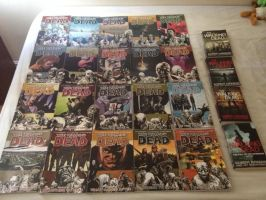 The Walking Dead Book Collection by extraphotos