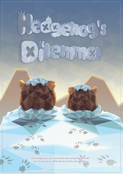 Hedgehog's Dilemma - 3D Typography by A-wild-vic-appears
