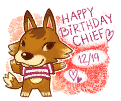 Chief Birthday by xtraZenny