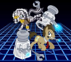 Spoilers (Doctor Whooves and Zecora) by tygerbug