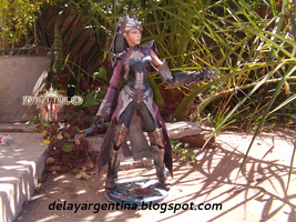 Diabli 3 - Hechicera by delay-papercraft