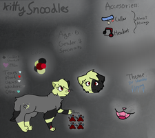Snoodles Ref 2013 by KittyDrowned