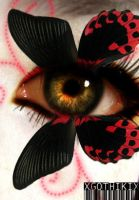 Swallowtail eye by xgothikix