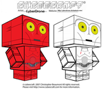 Cubeecraft - R-3PO and K-3PO by CyberDrone