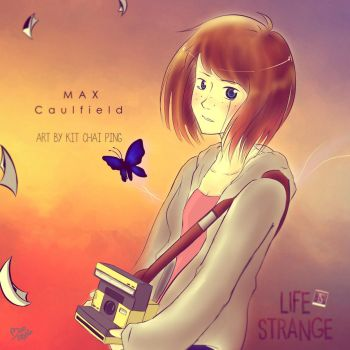 Max Caulfield from Life is Strange by BLACK4REST