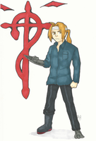 Edward Elric by Mababwion1