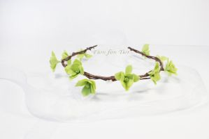 Simple Woodland tiara 1 by fion-fon-tier