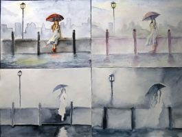 Variations of Rain by Wasserbienchen