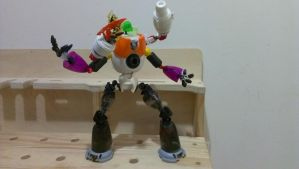 Found Object Mech Action Figure by nykgmr
