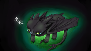 Toothless by MayaTheMadHatter