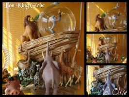 Disney Store Lion King Globe by OliveTree2