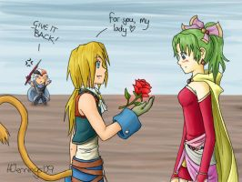 Dissidia - Valentine by AngelBless