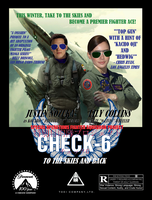 Check-6 - To the Skies and Back Poster by BlueWolfRanger95