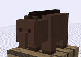 Minecraft Mob Ideas - Tapir by RedPanda7