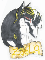 CALIFUR Zolo badge by zirio