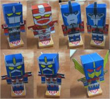 Optimus Prime Pezzys by aim11