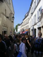 The Rue Norvins by Party9999999