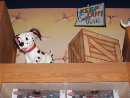 Keep Out Dalmatian Puppy Disney Store Display by KrazyKari