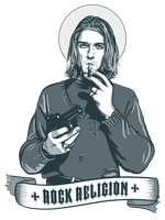 Rock Religion - Kurt Cobaine by IgorLevchuk