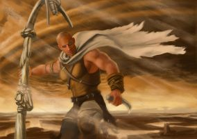 Riddick, Into the Storm! by DymondStarr