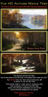 HD Fall Maple Tree Pack by 2753Productions