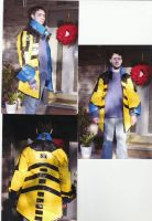 Pirate Style Duct Tape Jacket by earthalchemyst