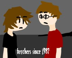 me and my brother by brandon123
