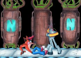 crash bandicoot piston it away by DSA09