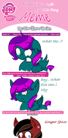 My Little Pony:Friendship is Magic GenderBend meme by kidwiizard