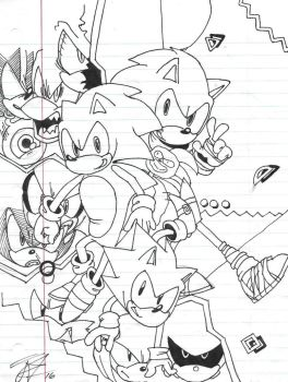 Sonic 25th Anniversary Submission #2 by Dazzledorp