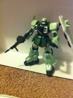 Zaku Warrior Kit 3 by DarthDizzle
