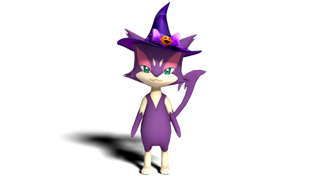Witch Purrloin by kuby64