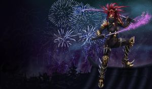 Year of the Dragon Katarina by 67Chrome