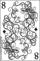 8 of spades by vasodelirium