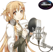 Asuna Render by codzocker00