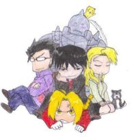 The FMA Gang by ashurrii24