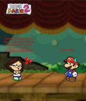 Paper Mario is so kawaii by Stareon