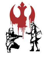 Star Wars Banksy by Degos