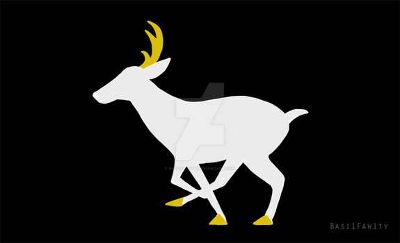 It's a deer.gif by basi1faw1ty