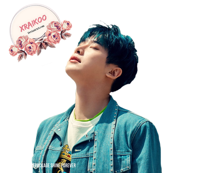 MONSTA X WonHo  png  Render ( Shine Forever) (2) by xRaikoo