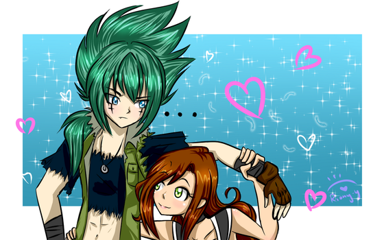 Beyblade Metal Fury - Couples Commission by Riony-Yagameratsu