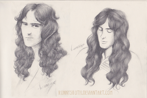 Hair Study - Steve Harris by RonnySkoth