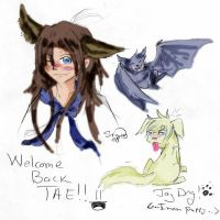 Welcome Back Tae by StarNob