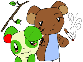 Stick And Fig H Bears by cdla