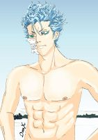 Grimmjow Jaegerjaques by InuXama