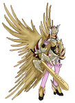 Valkyrianmon Sprite (Originally from EmeraldSora) by N7Gabry