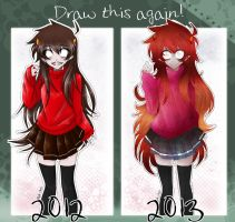 Draw This Again - Fem!Kankri Vantas by Nadi-Chan